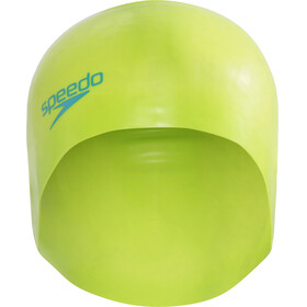 speedo Plain Moulded Cuffia Bambino verde